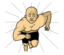 Physial Beauty!! Nikuo's Muscle Life!! sticker #215729