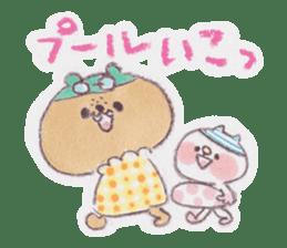 kumao-summer.ver- sticker #216405