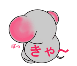 Elephant's Heart sticker #217294
