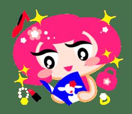 Pinky Girl sticker #218031