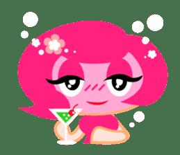 Pinky Girl sticker #218034