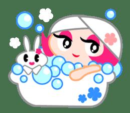 Pinky Girl sticker #218043