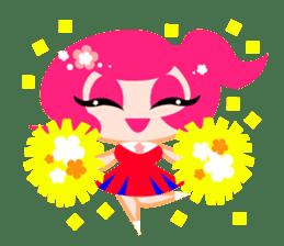 Pinky Girl sticker #218046