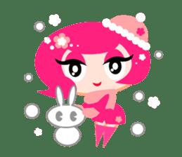 Pinky Girl sticker #218050
