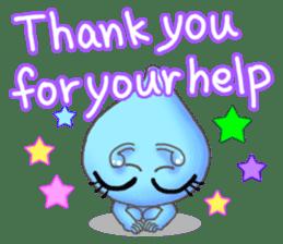 """""""Pleia"""" The Cute Alien part 1 (English) sticker #880647"""