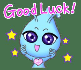 """""""Pleia"""" The Cute Alien part 1 (English) sticker #880650"""