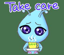 """""""Pleia"""" The Cute Alien part 1 (English) sticker #880678"""
