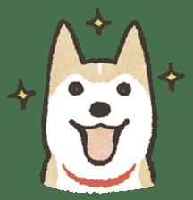 Shiba Inu (Shiba-Dog) stickers sticker #888279