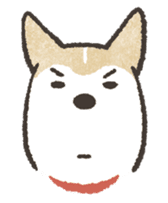 Shiba Inu (Shiba-Dog) stickers sticker #888282