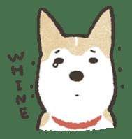 Shiba Inu (Shiba-Dog) stickers sticker #888288