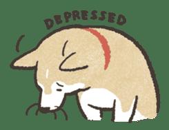 Shiba Inu (Shiba-Dog) stickers sticker #888289