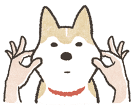 Shiba Inu (Shiba-Dog) stickers sticker #888298