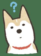 Shiba Inu (Shiba-Dog) stickers sticker #888299
