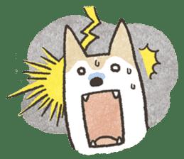 Shiba Inu (Shiba-Dog) stickers sticker #888301