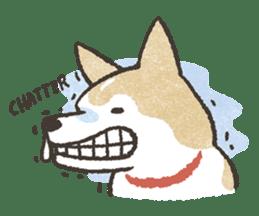 Shiba Inu (Shiba-Dog) stickers sticker #888310