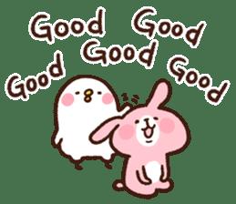 Piske&Usagi.3(English) by Kanahei sticker #1435741