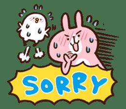 Piske&Usagi.3(English) by Kanahei sticker #1435745