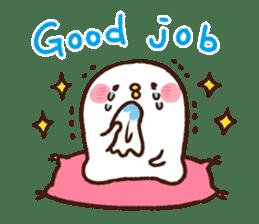 Piske&Usagi.3(English) by Kanahei sticker #1435753