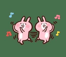 Piske&Usagi.3(English) by Kanahei sticker #1435760