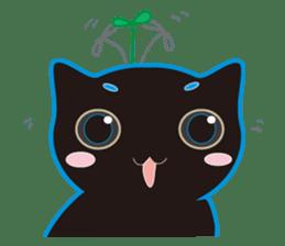 A Cat Named Moemoeme Shirokuroneko sticker #2035047