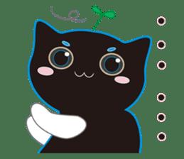 A Cat Named Moemoeme Shirokuroneko sticker #2035048