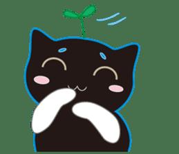 A Cat Named Moemoeme Shirokuroneko sticker #2035049
