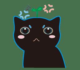 A Cat Named Moemoeme Shirokuroneko sticker #2035051