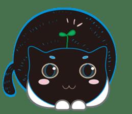 A Cat Named Moemoeme Shirokuroneko sticker #2035054