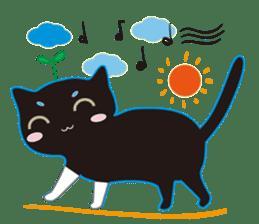 A Cat Named Moemoeme Shirokuroneko sticker #2035059