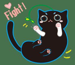 A Cat Named Moemoeme Shirokuroneko sticker #2035060