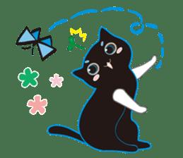 A Cat Named Moemoeme Shirokuroneko sticker #2035061