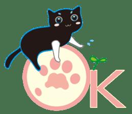 A Cat Named Moemoeme Shirokuroneko sticker #2035062