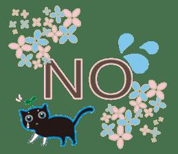A Cat Named Moemoeme Shirokuroneko sticker #2035063