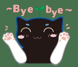 A Cat Named Moemoeme Shirokuroneko sticker #2035064