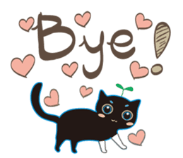 A Cat Named Moemoeme Shirokuroneko sticker #2035065