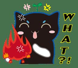A Cat Named Moemoeme Shirokuroneko sticker #2035068