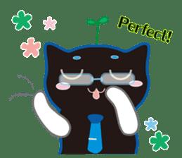 A Cat Named Moemoeme Shirokuroneko sticker #2035069