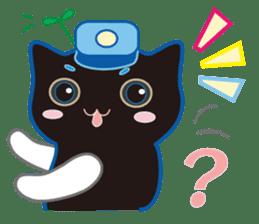 A Cat Named Moemoeme Shirokuroneko sticker #2035070