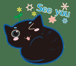 A Cat Named Moemoeme Shirokuroneko sticker #2035071