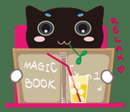 A Cat Named Moemoeme Shirokuroneko sticker #2035076