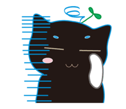 A Cat Named Moemoeme Shirokuroneko sticker #2035077