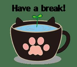 A Cat Named Moemoeme Shirokuroneko sticker #2035078