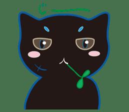 A Cat Named Moemoeme Shirokuroneko sticker #2035079