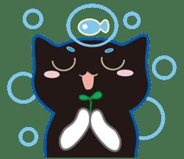 A Cat Named Moemoeme Shirokuroneko sticker #2035081