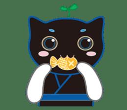 A Cat Named Moemoeme Shirokuroneko sticker #2035082