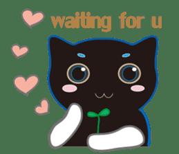 A Cat Named Moemoeme Shirokuroneko sticker #2035084
