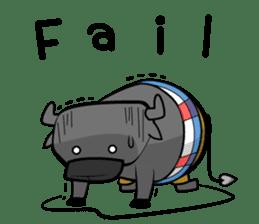 Tidlom The Sky Hanger: Buffalo Life sticker #2150309