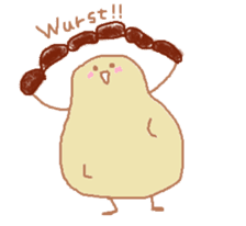 "Germany Potato ""Kartoffeln"" sticker #2175156"