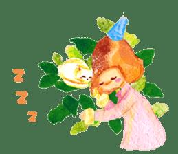 Mori--girl sticker #2224585