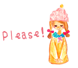 Mori--girl sticker #2224586